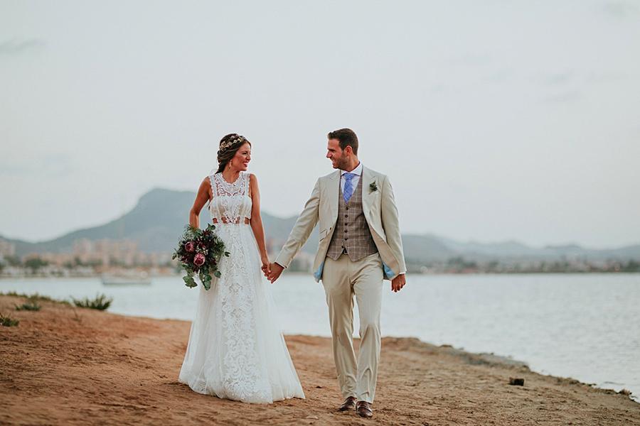 bodas en la playa murcia